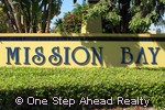 Mission Bay community sign